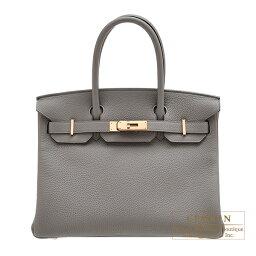 エルメス バーキン バッグ(レディース) エルメス バーキン30 エタン トゴ ローズゴールド金具 HERMES Birkin bag 30 Etain Togo leather Rose gold hardware