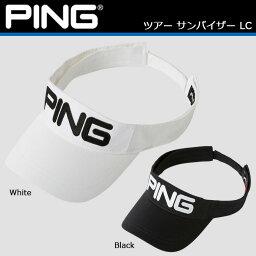 ピン PING ピン ツアー サンバイザー LC 33123 日本正規品 [キャップ 帽子 ゴルフキャップ ゴルフサンバイザー]