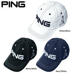 ピン 【送料無料】 PING ピン コットン アンストラクチャー 6パネル キャップ Mr.PING 日本正規品 ゴルフ用品 帽子 ゴルフキャップ ピンゴルフ