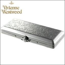 メタル ヴィヴィアンウエストウッド 財布 ヴィヴィアン バッグ Vivienne Westwood ヴィヴィアン ウエストウッド メタルスリムORB シガレットケース メタル
