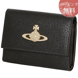 ヴィヴィアンウエストウッド 二つ折り財布(レディース) 正規品 ヴィヴィアンウエストウッド 財布 ヴィヴィアン バッグ Vivienne Westwood ヴィヴィアン ウエストウッド EXECUTIVE LF ブラック