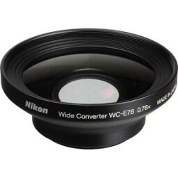 COOLPIX Nikon ニコン WC-E76 カメラレンズ 0.76x Wide-Angle Converter Lens for Nikon Coolpix P6000 Camera