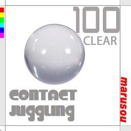 ボール クリスタルボール100mmクリアー【ナランハ】ジャグリング・大道芸・水晶玉・クリアー球・コンタクトボール