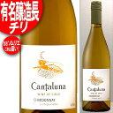 年代ワインギフト 有名醸造長の造るチリ! 当店ソムリエ旨い印! カンタルナ シャルドネ 白 750ml(チリ・ワイン) ※年代は変ることがあります。