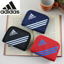 アディダス adidas メンズ財布 ストラップ付き ラウンドファスナー二つ折り財布 キッズ 男の子 学生 47622 クリスマス プレゼント