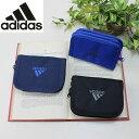 アディダス adidas メンズ財布 ストラップ付き ラウンドファスナー二つ折り財布 キッズ 男の子 学生 57613 クリスマス プレゼント