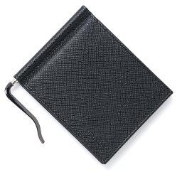 プラダ マネークリップ プラダ PRADA マネークリップ カードケース ブラック メンズ ウォレット 財布 ギフト プレゼント 2mn077 053 f0002【あす楽対応_関東】【返品送料無料】【ラッピング無料】