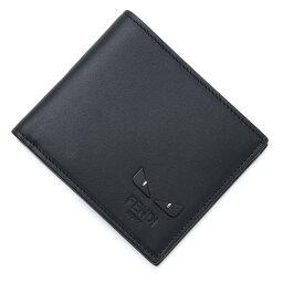 フェンディ 財布(メンズ) フェンディ FENDI 2つ折り 財布 ブラック メンズ 7m0169 6oc f0gxn BUGS EYES バグズ・アイ【あす楽対応_関東】【返品送料無料】【ラッピング無料】