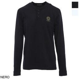 ヴェルサーチ ヴェルサーチェ VERSACE クルーネック Tシャツ メンズ auu01016 a232741 a1008 T-SHIRT ML GIROCOLLO INTIMO UOMO【あす楽対応_関東】【返品交換不可】【ラッピング無料】