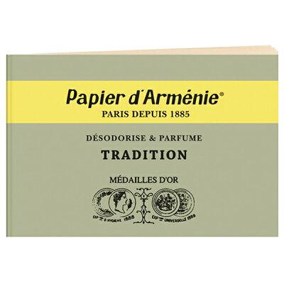 パピエダルメニイ papier d'armenie トリプル トラディショナル 3×12枚 アロマペーパー 紙のお香