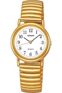セイコー スポーツウォッチ レディース アナログ 腕時計 ランニングウォッチ 伸縮バンド ゴールド 金 メタル ステンレスバンド(SK8DC15GLD)ホワイト 白 文字板 アラビア数字 SEIKO LADYS ANALOG マラソン ランニング 時計 伸縮性エクスパンションバンド