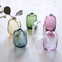 花瓶 Sghr スガハラ ミニ フラワーベース 平角 一輪挿し ガラス 花瓶 花器 クリスタル おしゃれ 小さい インテリア 雑貨 ピンク レッド イエロー ブルー グリーン クリア ギフト プレゼント 贈り物 日本製