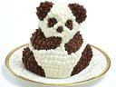 立体ケーキ マイルストーン リトルパンダケーキ(誕生日ケーキ/バースデーケーキ/キャラクター/プレゼント/サプライズ/かわいい/記念日/ビビット)