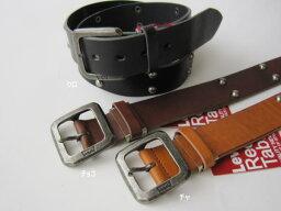 リーバイス Levi's リーバイス 70216305スタッズ付き牛革ベルト(38mm幅)