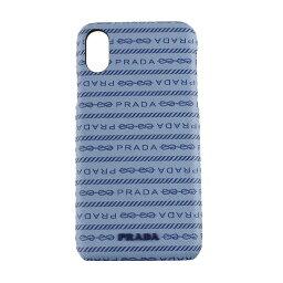 プラダ スマホケース 【P10倍 10/15 0時〜24時】プラダ iPhoneケース iPhoneX iPhoneXS ハードケース PRADA 1ZH058 2DF8 F0637 ブルー系 スマホケース・テックアクセサリー レディース