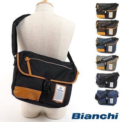 【国内正規品】Bianchi ビアンキ バッグ NBTC-03 DUALTEX メンズ レディース ショルダーバッグ [ワンショルダー 斜め掛けショルダー]【br】