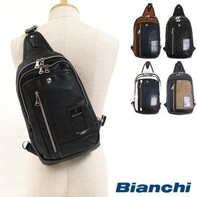 Bianchi ビアンキ ボディーバッグ ワンショルダー メンズ・レディース [TBPI-12 FW17]