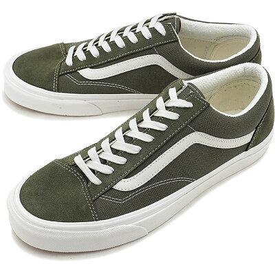 【即納】バンズ VANS スタイル36 STYLE 36 メンズ レディース ヴァンズ スニーカー 靴 GRAPE LEAF/BLANC DE BLANC [VN0A3DZ3VTF SS19]