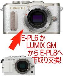 オリンパス OLYMPUS PEN E-PL6かLUMIX GM → E-PL8 ミラーレス一眼ボディーグレードアッププラン[02P05Nov16]【コンビニ受取対応商品】