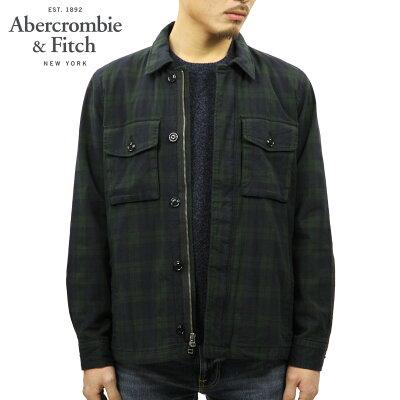 アバクロ Abercrombie&Fitch 正規品 メンズ シャツジャケット PLAID ZIP-UP SHIRT JACKET 132-328-1229-228