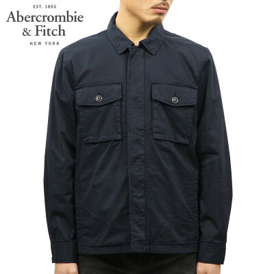 アバクロ Abercrombie&Fitch 正規品 メンズ シャツジャケット GARMENT DYE ZIP-UP SHIRT JACKET 132-328-1194-200