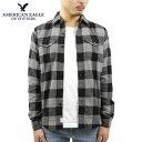 アメリカンイーグル シャツ メンズ 正規品 AMERICAN EAGLE 長袖シャツ ネルシャツ Button Front Long Sleeves Shirt 2151-1343-020