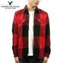 アメリカンイーグル シャツ メンズ 正規品 AMERICAN EAGLE 長袖シャツ ネルシャツ AE Seriously Soft Flannel Shirt 2151-5014-600