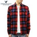 アメリカンイーグル シャツ メンズ 正規品 AMERICAN EAGLE 長袖シャツ ネルシャツ AE Seriously Soft Flannel Shirt 2151-1268-600
