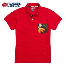 フランクリンマーシャル 【スーパーDEAL商品 4/28 10:00〜5/3 9:59】 フランクリン マーシャル FRANKLIN&MARSHALL 正規販売店 メンズ ポロシャツ POLO SHIRTS POMAL225