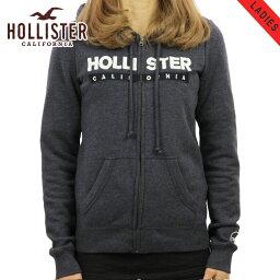 ホリスター カンパニー ホリスター HOLLISTER 正規品 レディース ジップアップパーカー Logo Graphic Full-Zip Hoodie 352-524-295-200
