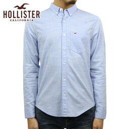 ホリスター ホリスター HOLLISTER 正規品 メンズ ボタンダウン スリムフィット 長袖シャツ Stretch Oxford Slim Fit Shirt 325-259-2120-210 父の日