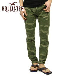 ホリスター 【ポイント10倍 6/1 0:00〜6/1 23:59まで】 ホリスター HOLLISTER 正規品 メンズ スキニーパンツ Hollister Twill Skinny Pants 330-302-0131-036 D20S30 父の日