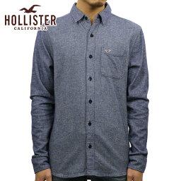 ホリスター ホリスター シャツ メンズ 正規品 HOLLISTER 長袖シャツ Textured Flannel Shirt 325-259-1489-202 D00S20
