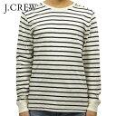 ジェイクルー ジェイクルー ロンT メンズ 正規品 J.CREW 長袖Tシャツ LONG-SLEEVE DECK-STRIPED TEXTURED COTTON T-SHIRT c7931 D00S20