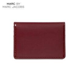 マークジェイコブス 二つ折り財布(メンズ) マークジェイコブス MARCJACOBS 正規品 財布 Patent Pending Wallet BURGUNDY
