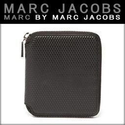 マークジェイコブス 二つ折り財布(メンズ) マークジェイコブス MARCJACOBS 正規品 財布 Cube Zip Wallet 4.5 x5.125