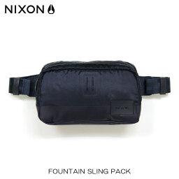 ニクソン 【販売期間 12/11 2:00〜12/14 09:59】 ニクソン NIXON 正規販売店 バッグ Fountain Sling Pack NAVY NC1957307-00