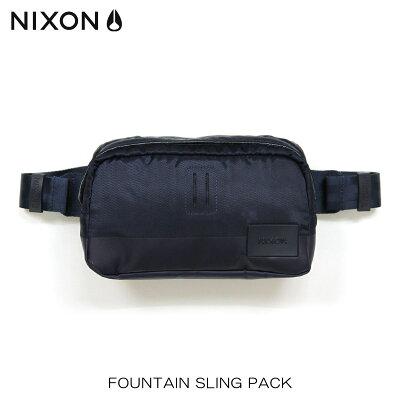 ニクソン NIXON 正規販売店 バッグ Fountain Sling Pack NAVY NC1957307-00