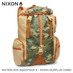 ニクソン ニクソン NIXON 正規販売店 バッグ Waterlock Backpack II KHAKI NC19521714-00 D20S30