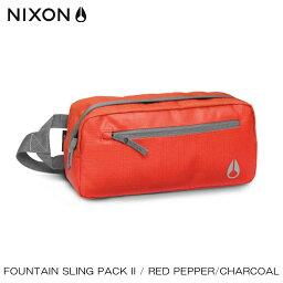ニクソン ニクソン NIXON 正規販売店 バッグ Fountain Sling Pack II RED NC19571745-00 D15S25