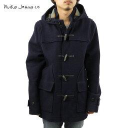 ヌーディージーンズ ヌーディージーンズ アウター メンズ 正規販売店 Nudie Jeans ジャケット コート Howard Duffel Bouble Face Navy B25 160310 5011 D15S25