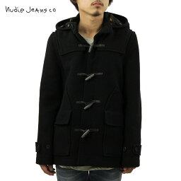 ヌーディージーンズ ヌーディージーンズ Nudie Jeans 正規販売店 メンズ アウターコート Howard Duffel Bouble Face Black B01 160310 5011