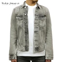 ヌーディージーンズ ヌーディージーンズ アウター メンズ 正規販売店 Nudie Jeans ジャケット デニムジャケット BILLY LIGHT GREY TRASHED DENIM JACKET DENIM B26 160617 5012