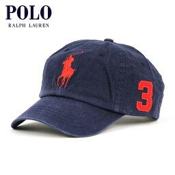 ポロ・ラルフローレン 【ポイント10倍 02/26 10:00〜03/01 09:59まで】 ポロ ラルフローレン POLO RALPH LAUREN 正規品 メンズ キャップ Big Pony Hat NAVY