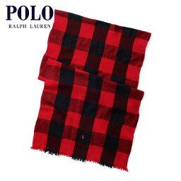 アバクロンビー&フィッチ ポロ ラルフローレン POLO RALPH LAUREN 正規品 マフラー スカーフ BUFFALO CHECK WOOL SCARF D00S15