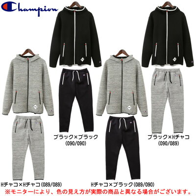 Champion(チャンピオン)PG WRAP AIR PARK PANTS 上下セット(C3LB171/C3LB271)(スポーツ/スウェット/ジャケット/パンツ/トレーニング/ランニング/男性用/メンズ)