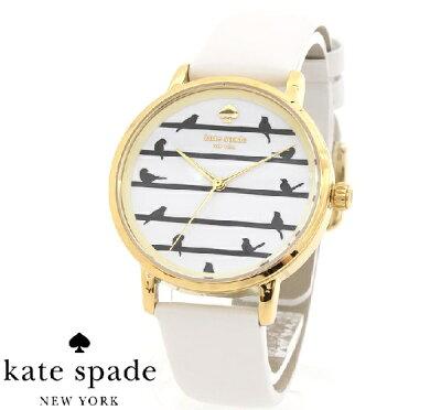【SALE! 在庫限り】 ケイトスペード 時計 レディース Kate Spade METRO 腕時計 おすすめ レザー KSW1043 【送料無料♪】【あす楽】
