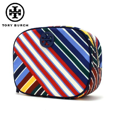 トリーバーチ ポーチ レディース TORY BURCH Wallet STRIPE DIAGONAL 43510 970 【送料無料♪】【あす楽】