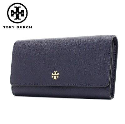 トリーバーチ 長財布 レディース TORY BURCH Wallet TORY NAVY 46187 405 【送料無料♪】【あす楽】