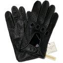 デンツ 手袋(メンズ) DENTSデンツ手縫い鹿革 ドライビング グローブ 5-1020BLACK【送料無料】メンズ 手袋